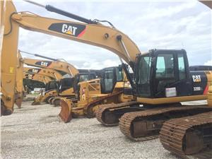 Excavadoras Caterpillar 320D2L (Quito)