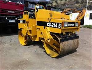 Rodillo doble tambor Caterpillar CB-534 (Guayaquil)